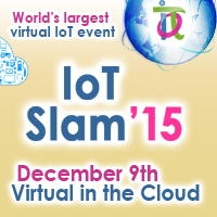 IoT Slam 2015 Virtual Internet of Things Conference Banner  200x200