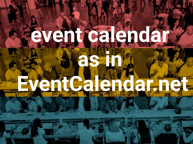 event calendar as in EventCalendar.net