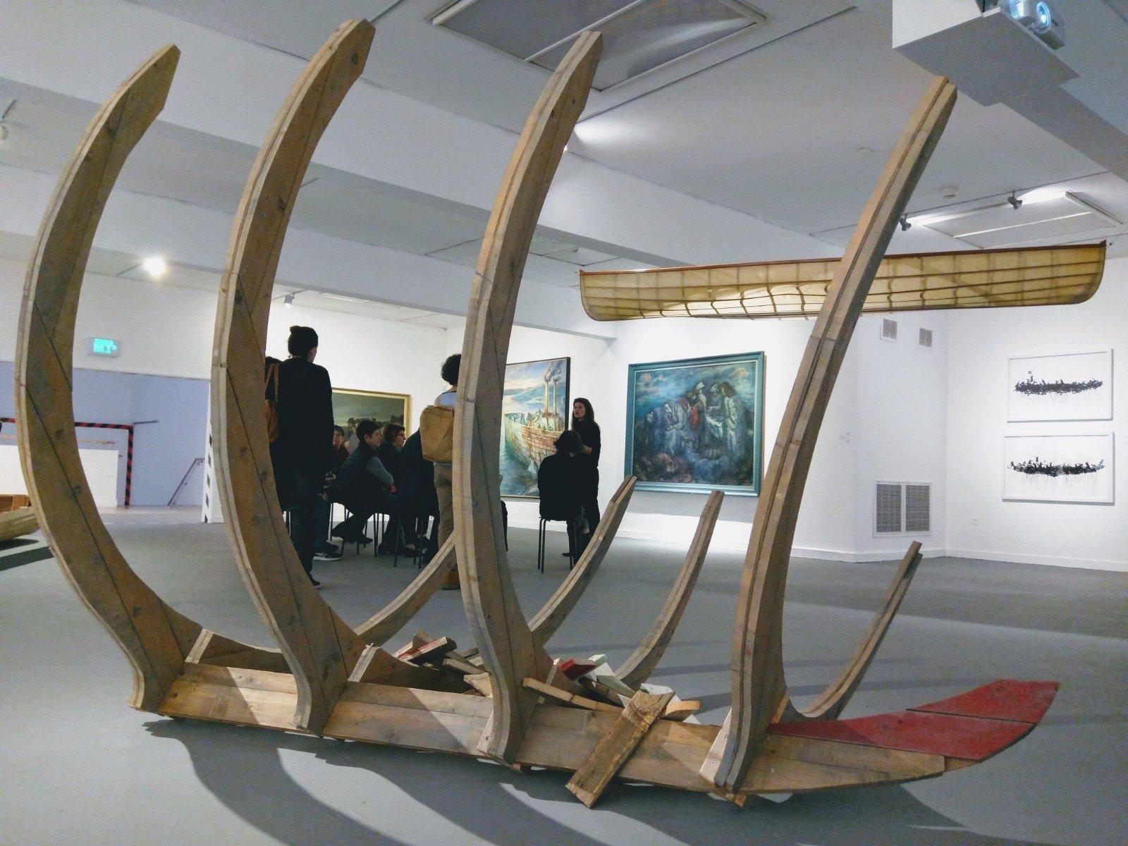 Dangerous Art, Cluster of Exhibitions in the Haifa Museum of Art, November 11 2017- April 14 2018, Haifa, Israel