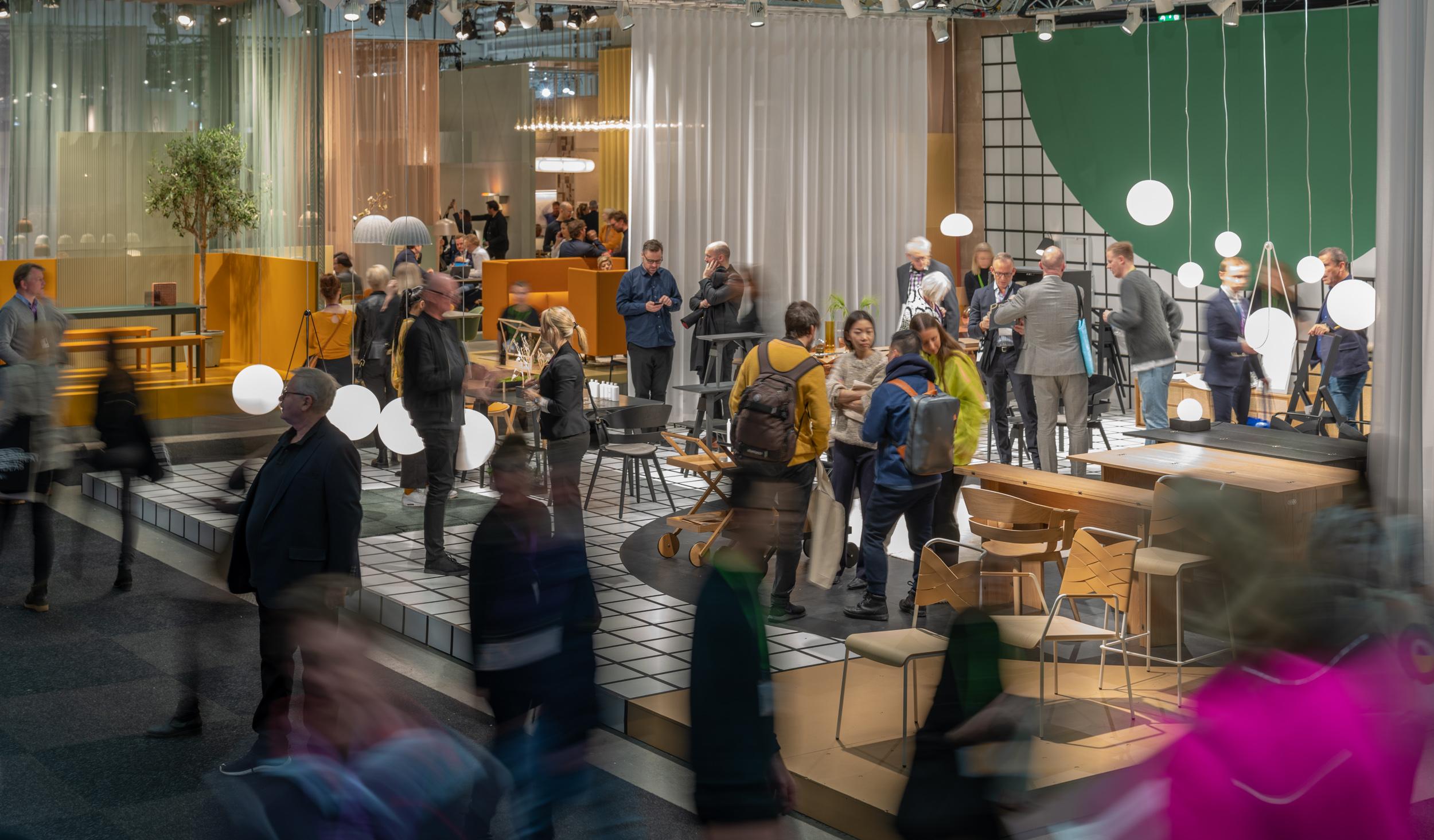 Stockholm Furniture & Light Fair, Photographer: Gustav Kaiser