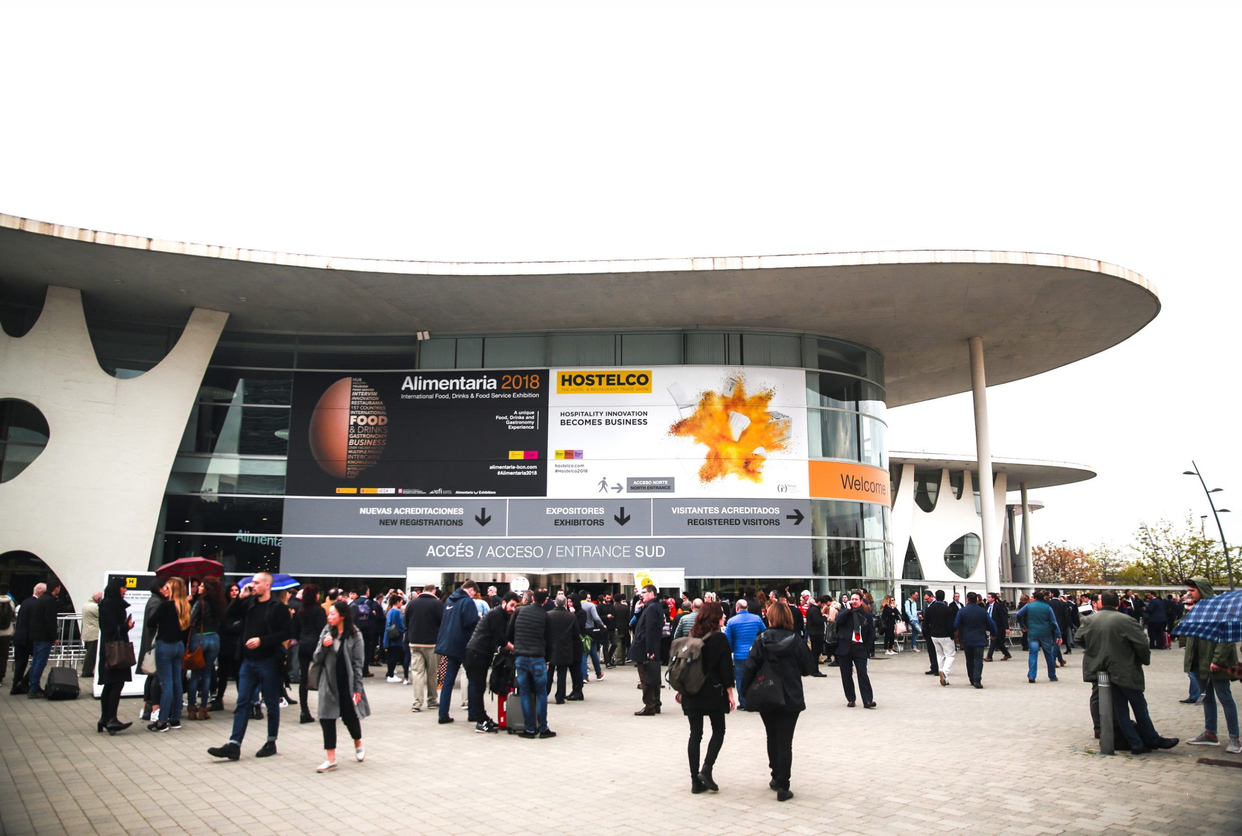 The Alimentaria, one of the most important food, beverage and gastronomy trade fairs worldwide, takes place from April 20 to 23, 2020 in the Fira de Barcelona
