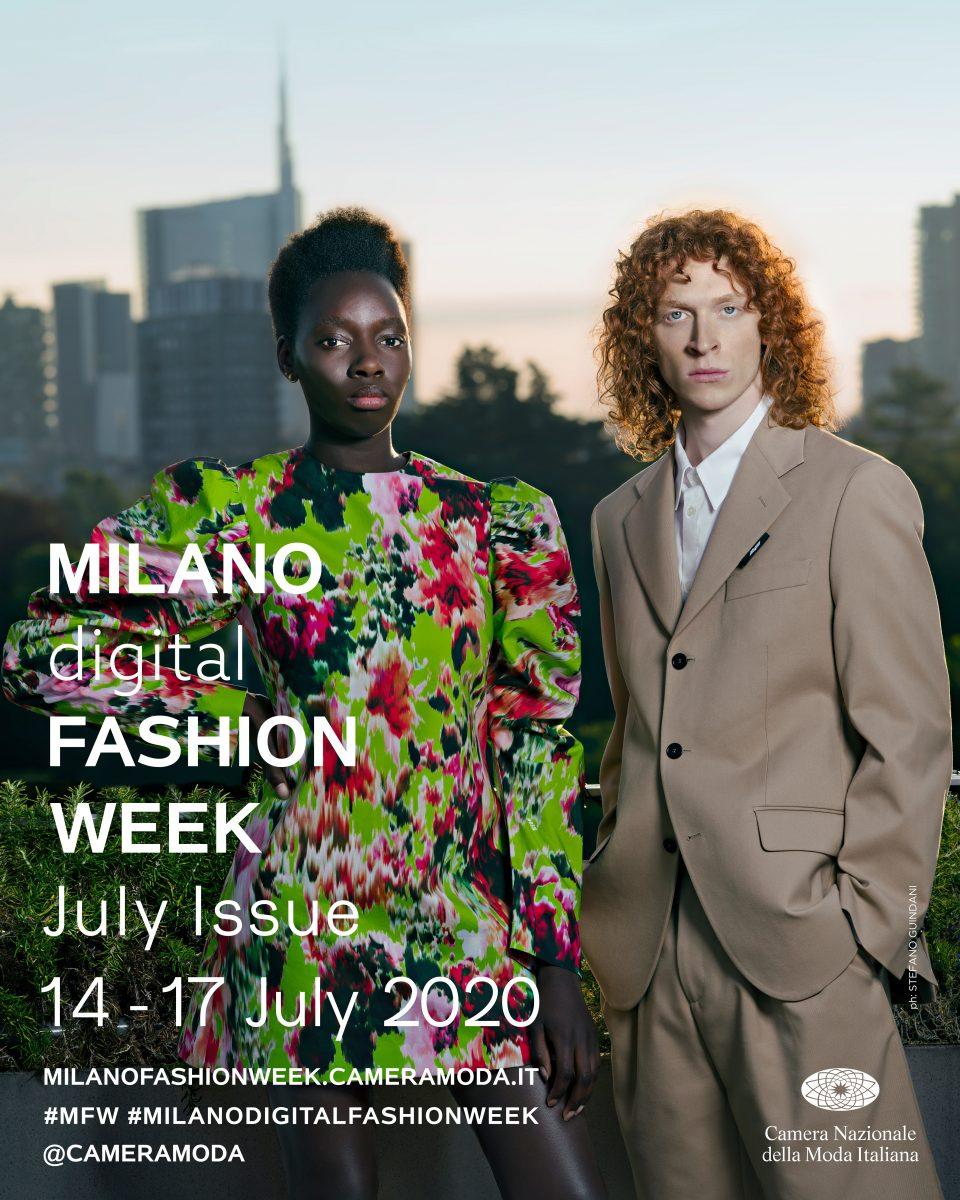 Milan Digital Fashion Week, July 14-17, 2020